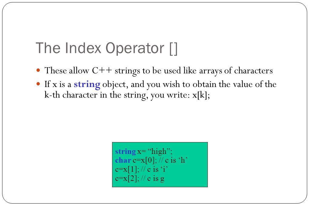 how to make an array of strings in c++